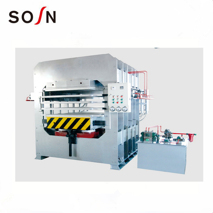 Press machine  for general bamboo